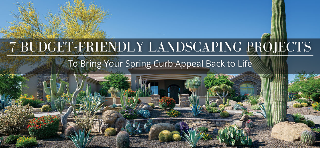 7 Budget-Friendly Landscaping Projects to Bring Your Spring Curb Appeal Back to Life