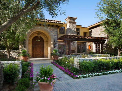 Tuscan curb appeal