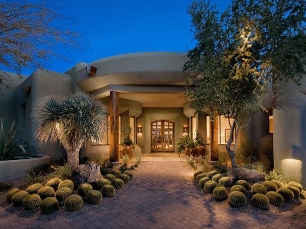 Organized Desert Landscape Design