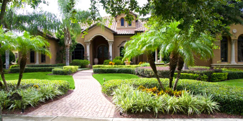 Create Tropical Curb Appeal