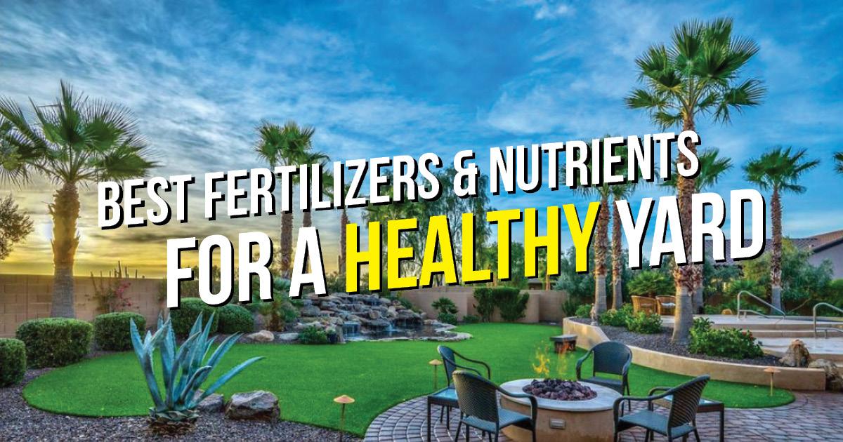AZ ferts and nutrients