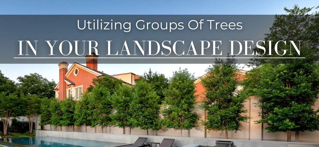 Best Uses for trees in large groups