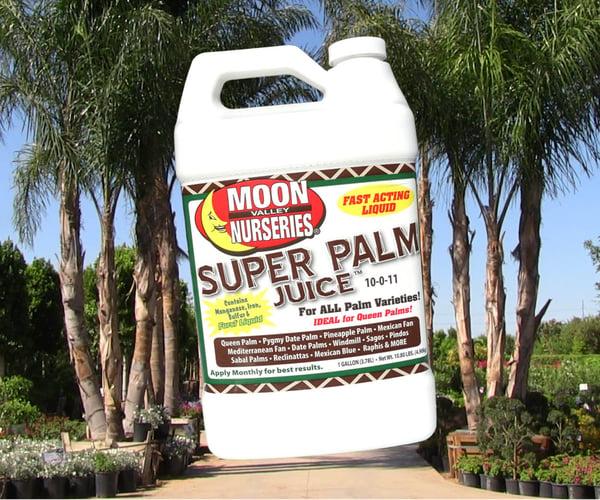 palm juice fertilizer bottle