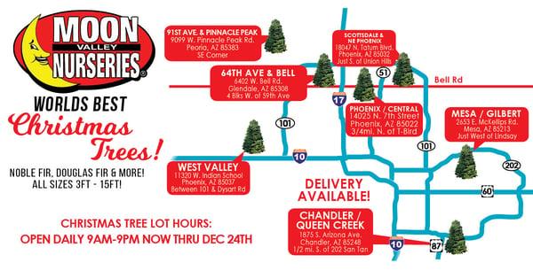 LINKEDIN Tree Lot Maps AZ