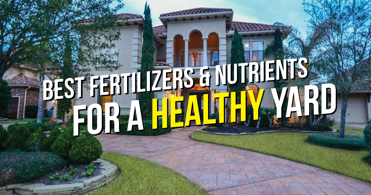 TX ferts and nutrients