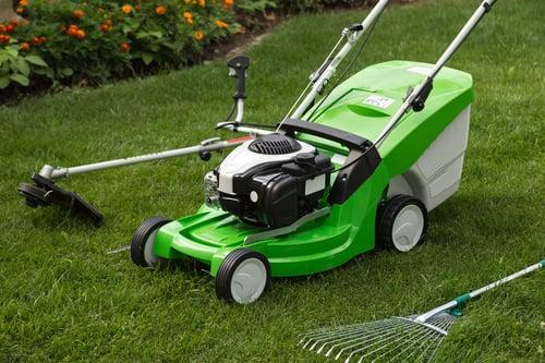 spring_lawn_care_mower_rake